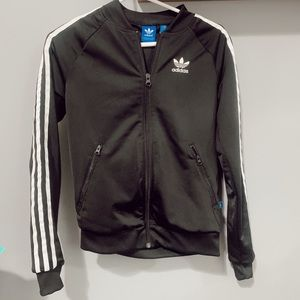 black adidas track jacket [never worn]